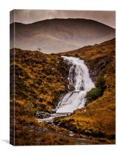 Storm over the Highlands, Canvas Print