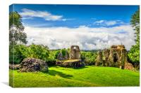 Narberth Castle, Canvas Print