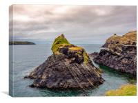 Abereiddy, Canvas Print