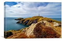 Strumble Head Lighthouse, Canvas Print