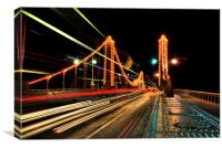 Chelsea Bridge, Canvas Print