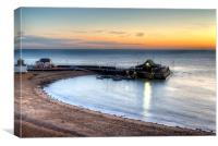 Broadstairs - Viking Bay Pier, Canvas Print