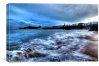 Tenby High Tide, Canvas Print