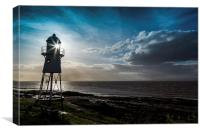 Black Nore lighthouse, Canvas Print
