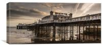 Brighton Palace Pier Panoramic, Canvas Print