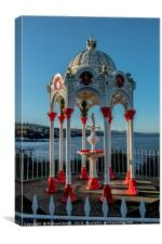 Newport on Tay drinking water fountain. #3, Canvas Print