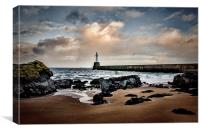 Winter Morning Seascape, Canvas Print