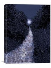 the path to dreams, Canvas Print