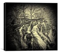 Swallow Falls Collection 1, Canvas Print