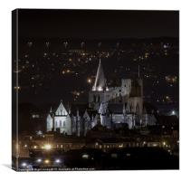 Isolated Cathedral, Canvas Print