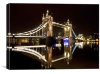 Tower Bridge,London, Canvas Print