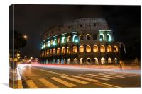 Coliseum, Canvas Print