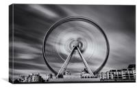 Brighton Eye, Canvas Print