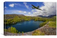 Spitfire Quarry, Canvas Print