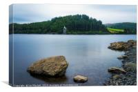 Lake Vyrnwy, Canvas Print