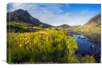 Llyn Ogwen and Tryfan, Canvas Print