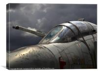 Phantom XV490, Canvas Print
