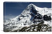The Eiger North Face, Canvas Print