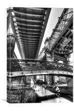 Castlefield Bridges, Manchester, Canvas Print
