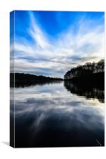 The beauty at the lakes., Canvas Print