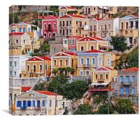 Symi island Greece II, Canvas Print