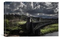 Craigellachie Bridge, Morayshire, Canvas Print
