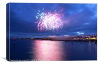 Pittenween Displays, Canvas Print