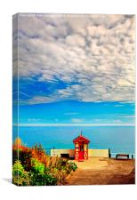 Nothing but Blue Skies, Canvas Print