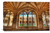 Cloisters Of Monastery dos Jeronimos, Canvas Print