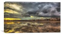 Early Morning At Ryde, Canvas Print