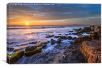 Hanover Point Sunset #2, Canvas Print