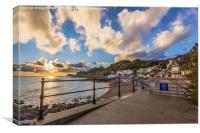 Welcome To Steephill Cove, Canvas Print
