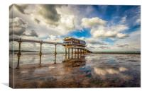 Bembridge Lifeboat Station HDR, Canvas Print