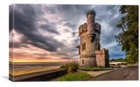 Appley Tower Ryde Isle Of Wight, Canvas Print