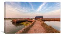 Newtown Quay Isle Of Wight, Canvas Print