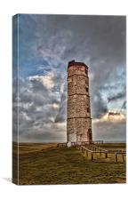 The Old Lighthouse Flamborough, Canvas Print