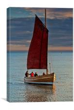 An Afternoon's Sail, Canvas Print