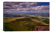 Brecon Beacons , Canvas Print