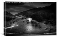 Elan Valley Visitors Centre, Canvas Print
