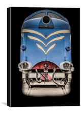 The Protoype Deltic , Canvas Print