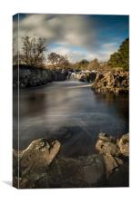Low Force, Teesdale, Canvas Print