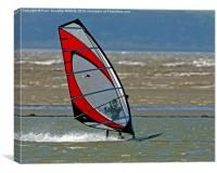Windsurfer, Canvas Print