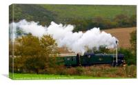 Great Western Steam, Canvas Print