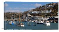 Looe Harbour, Canvas Print