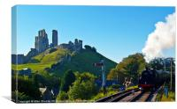 Approaching Corfe 5, Canvas Print
