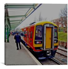 159 at Swanage, Canvas Print