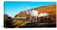 LSWR Double, Canvas Print