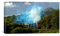 Smokey Deltic, Canvas Print