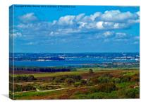 View from the top., Canvas Print