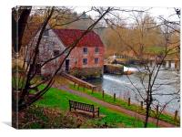Sturminster Newton Mill., Canvas Print